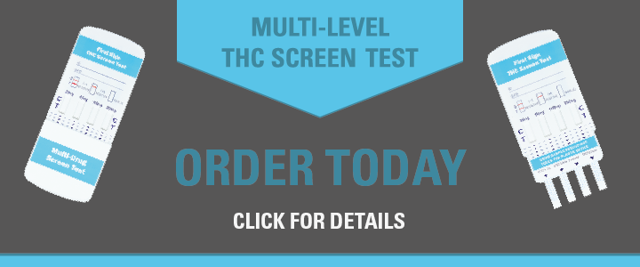 Multi-level THC Screen Test